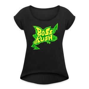 Boss Rush - Jet Set Edition - Women's Roll Cuff T-Shirt