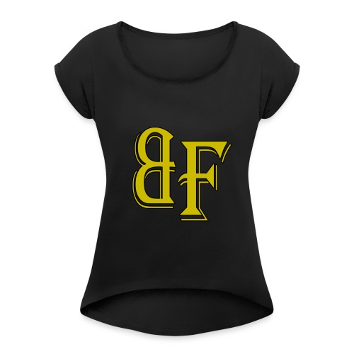 Broken Fundamentals Classic Lettering - Women's Roll Cuff T-Shirt
