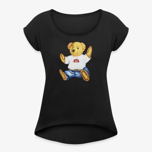 Team Brew Mascot - Women's Roll Cuff T-Shirt