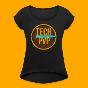 TechPvP Merch - Women's Roll Cuff T-Shirt