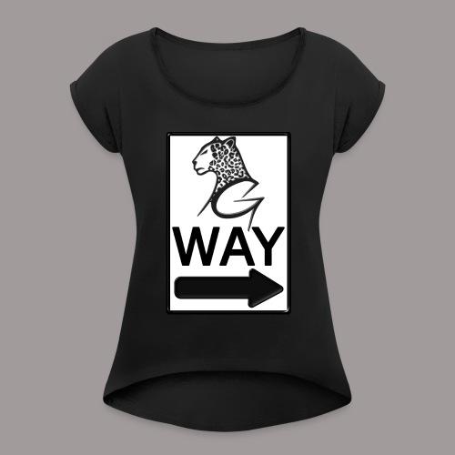 Gway - Women's Roll Cuff T-Shirt