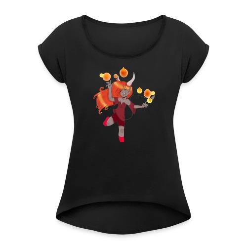 Sage002 - Women's Roll Cuff T-Shirt