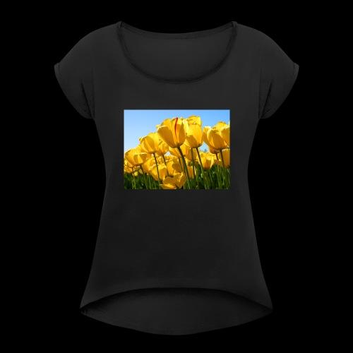 garden of life - Women's Roll Cuff T-Shirt