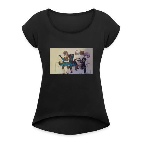Nep and Friends - Women's Roll Cuff T-Shirt