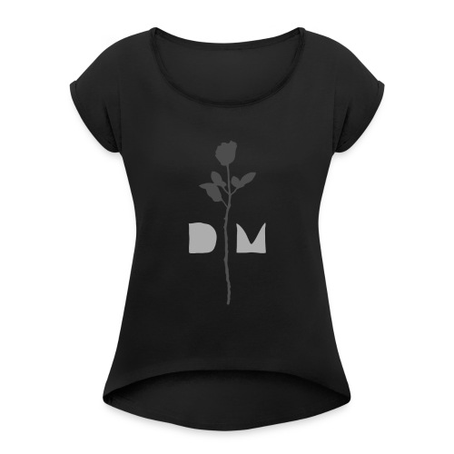 DM 2 original hi res - Women's Roll Cuff T-Shirt