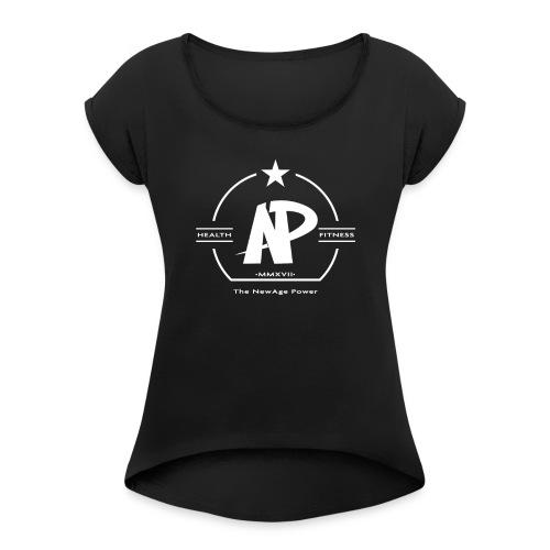 The NewAge Power T-Shirt Black - Women's Roll Cuff T-Shirt
