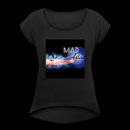 Mad Atlas - Women's Roll Cuff T-Shirt