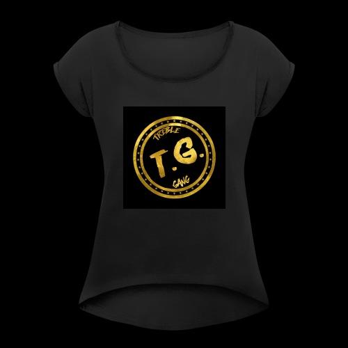 OG TrebleGang - Women's Roll Cuff T-Shirt