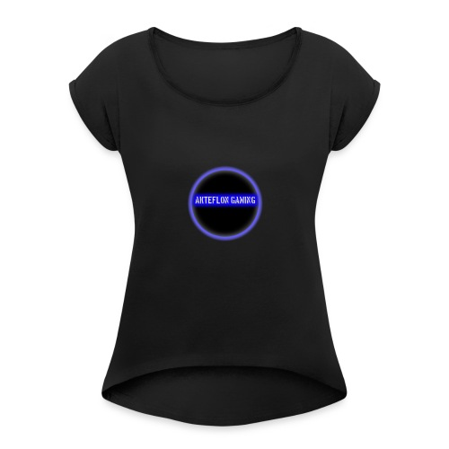AKTEFLON GAMING - Women's Roll Cuff T-Shirt