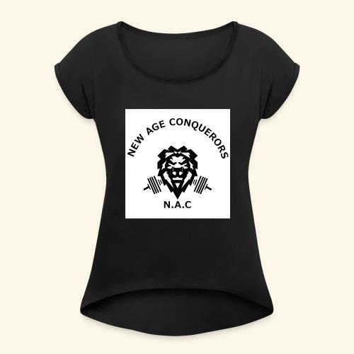 NEW AGE CONQUERORS - Women's Roll Cuff T-Shirt