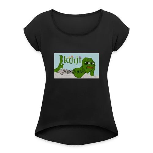 Classic Prank Call Shirt - Women's Roll Cuff T-Shirt