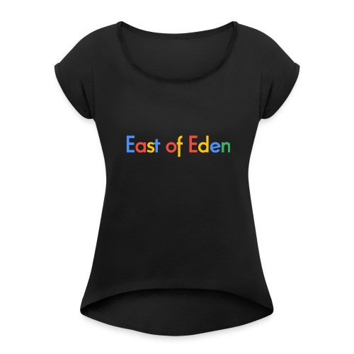 EOE Google - Women's Roll Cuff T-Shirt