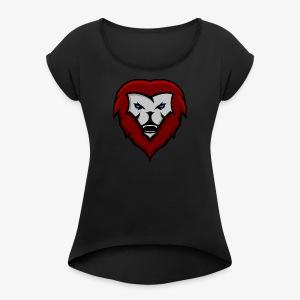 Logo Final - Women's Roll Cuff T-Shirt
