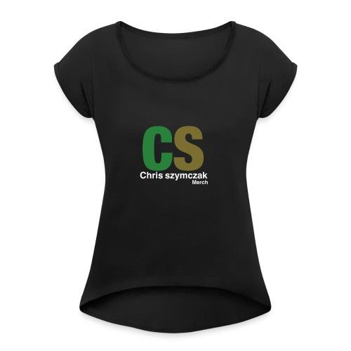 43B8FB6A AD01 4865 8793 5B71C33C9B72 - Women's Roll Cuff T-Shirt