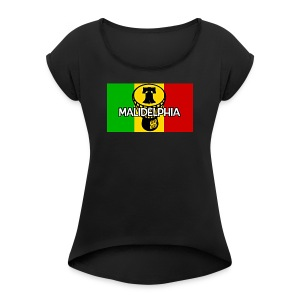 Malidelphia 2018 - Women's Roll Cuff T-Shirt