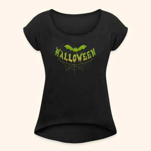 halloween - Women's Roll Cuff T-Shirt