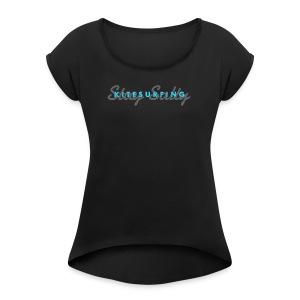 KITESURFING Stay Salty - Women's Roll Cuff T-Shirt