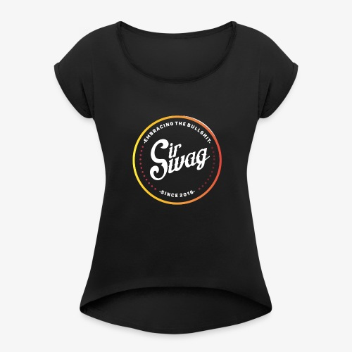 Vintage Swag - Women's Roll Cuff T-Shirt