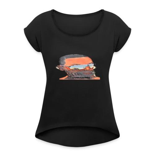 Dr. Zebmen - Women's Roll Cuff T-Shirt