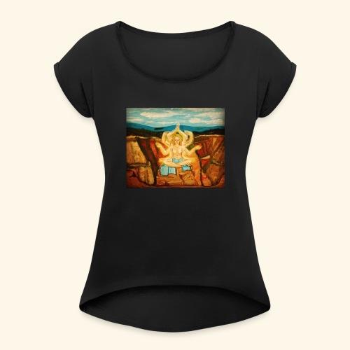 Higher Meditation - Women's Roll Cuff T-Shirt