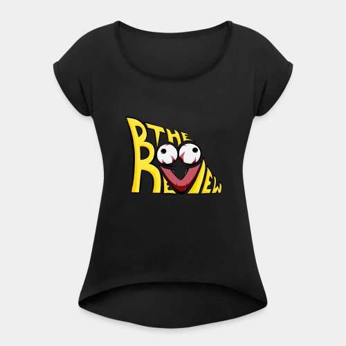 The Boo Review Icon - Women's Roll Cuff T-Shirt