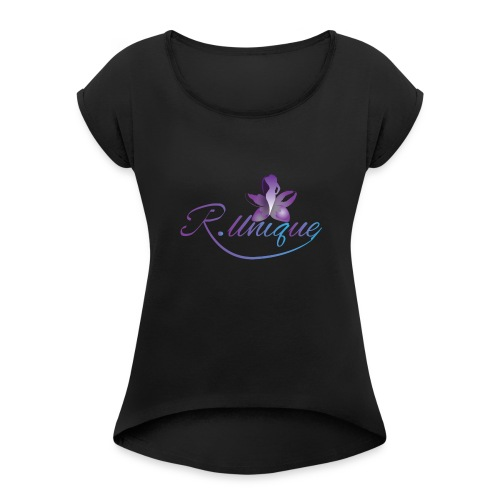 R. Unique LLC - Women's Roll Cuff T-Shirt