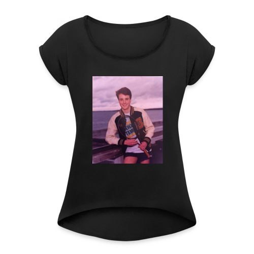 Clete Smith - Women's Roll Cuff T-Shirt