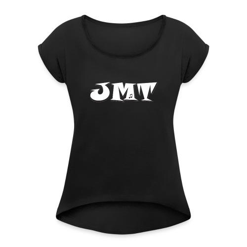 Jewish Music Toronto Logo - Women's Roll Cuff T-Shirt