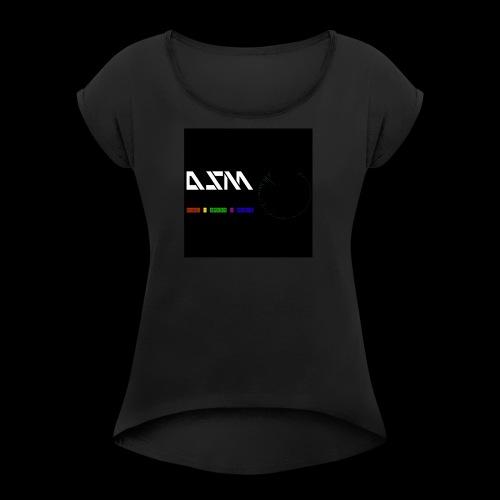 DualSpeedMusic - Women's Roll Cuff T-Shirt