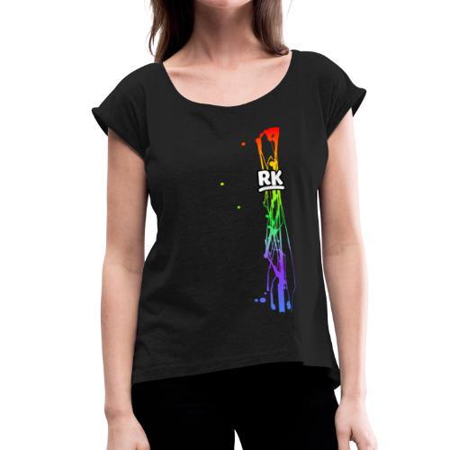 Richy Logo - Versatile - Women's Roll Cuff T-Shirt