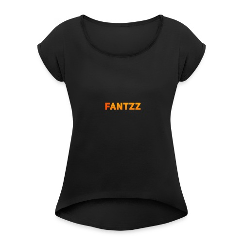 Fantzz Clothing - Women's Roll Cuff T-Shirt