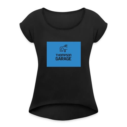 Thompson Garage Merch - Women's Roll Cuff T-Shirt
