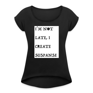MORSE 3 - Women's Roll Cuff T-Shirt