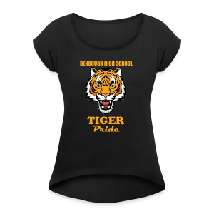 BHS Tiger Pride - Women's Roll Cuff T-Shirt