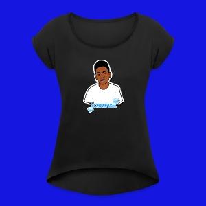 YOBOIIPIXEL - Women's Roll Cuff T-Shirt