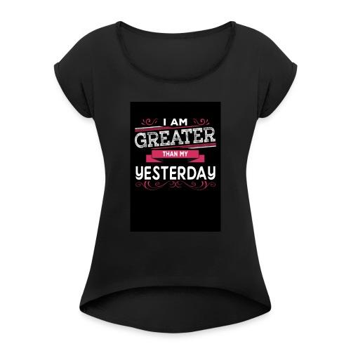 IMG 0437 - Women's Roll Cuff T-Shirt
