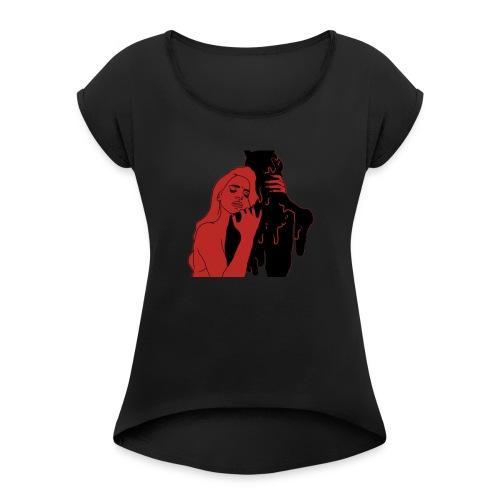 Loved - Women's Roll Cuff T-Shirt