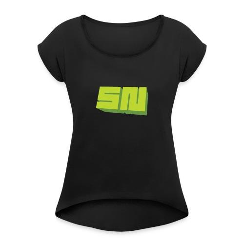 SNGC - Women's Roll Cuff T-Shirt