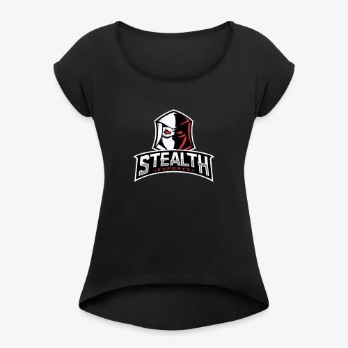 Stealth - Women's Roll Cuff T-Shirt