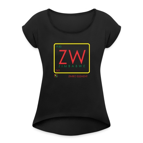 ZIMBO ELEMENT RATSA - Women's Roll Cuff T-Shirt