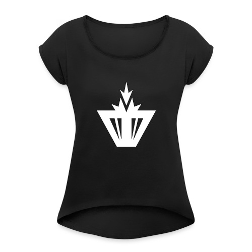 Moio Squad Design 4 - Women's Roll Cuff T-Shirt