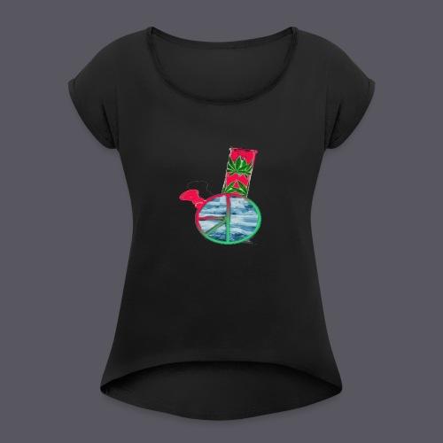 Pink Gelato - Women's Roll Cuff T-Shirt