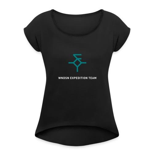 Wndsn Expedition Team Shirt - Women's Roll Cuff T-Shirt