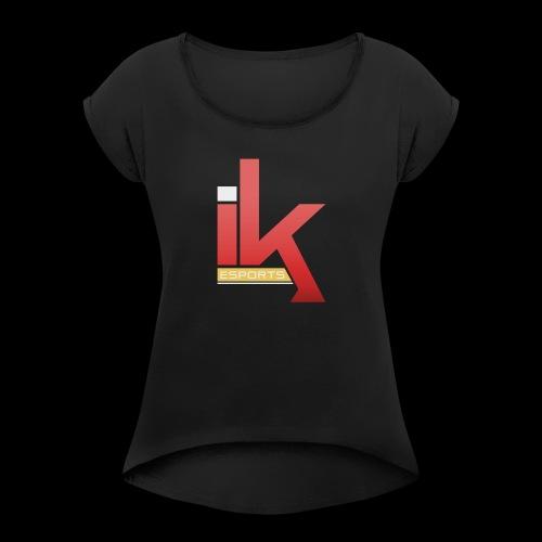 iKronic eSport Red - Women's Roll Cuff T-Shirt