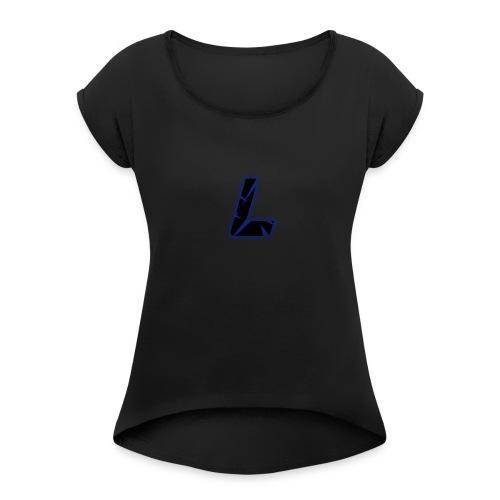 L - Women's Roll Cuff T-Shirt