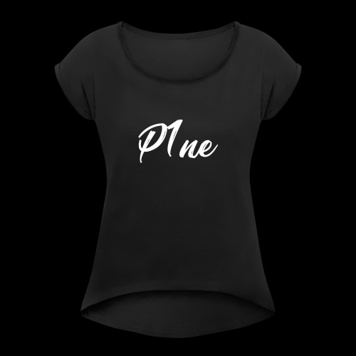 P1neMusic - Women's Roll Cuff T-Shirt