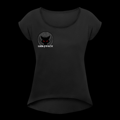 WolfPack Production - Women's Roll Cuff T-Shirt