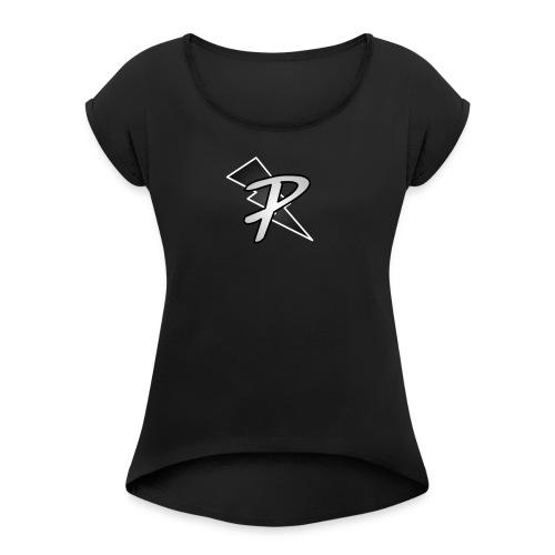 Pig nation merch more - Women's Roll Cuff T-Shirt