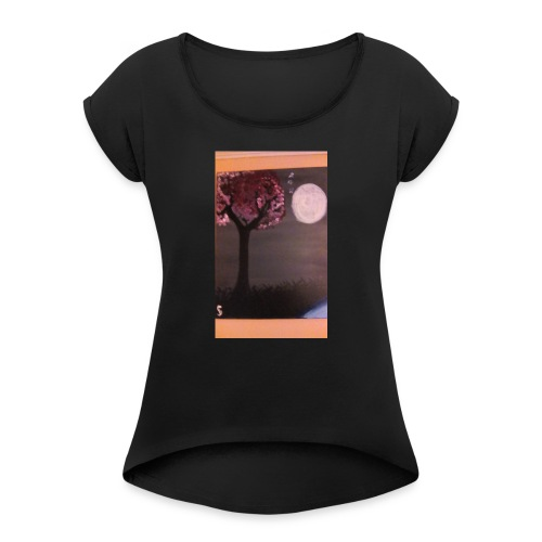 1518057077727 1170598782 - Women's Roll Cuff T-Shirt