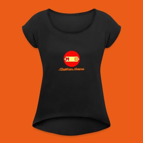 MusaiAnime - Dragneel's New Logo - Women's Roll Cuff T-Shirt